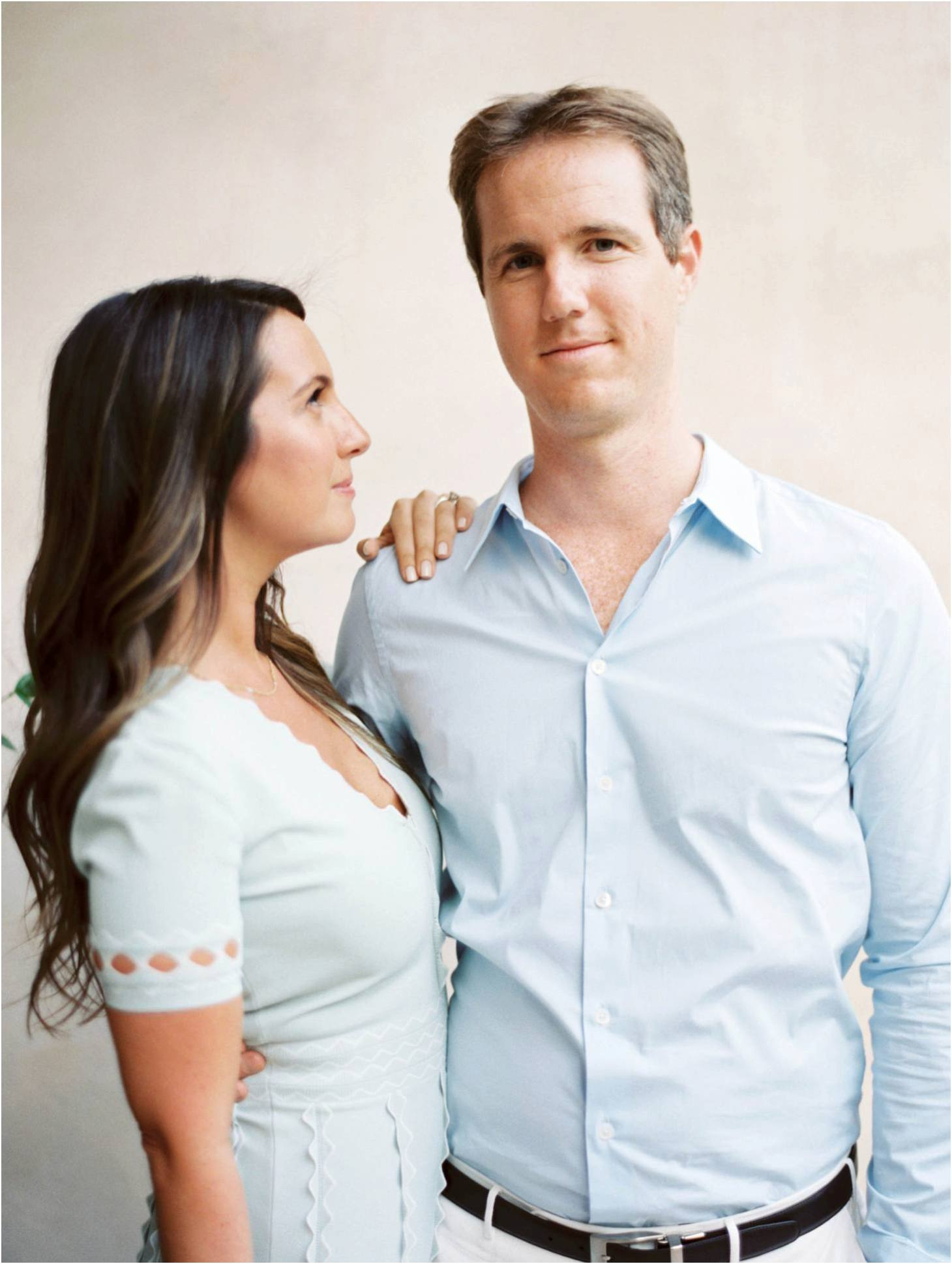 Kim Stockwell Photography Fine Art Film Wedding Los Angeles Valley Hunt Club Engagements Andrea and Brian_0748