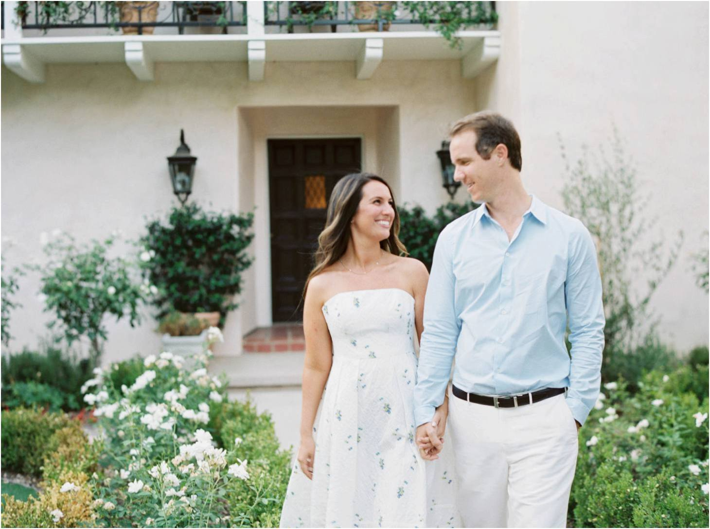 Kim Stockwell Photography Fine Art Film Wedding Los Angeles Valley Hunt Club Engagements Andrea and Brian_0751