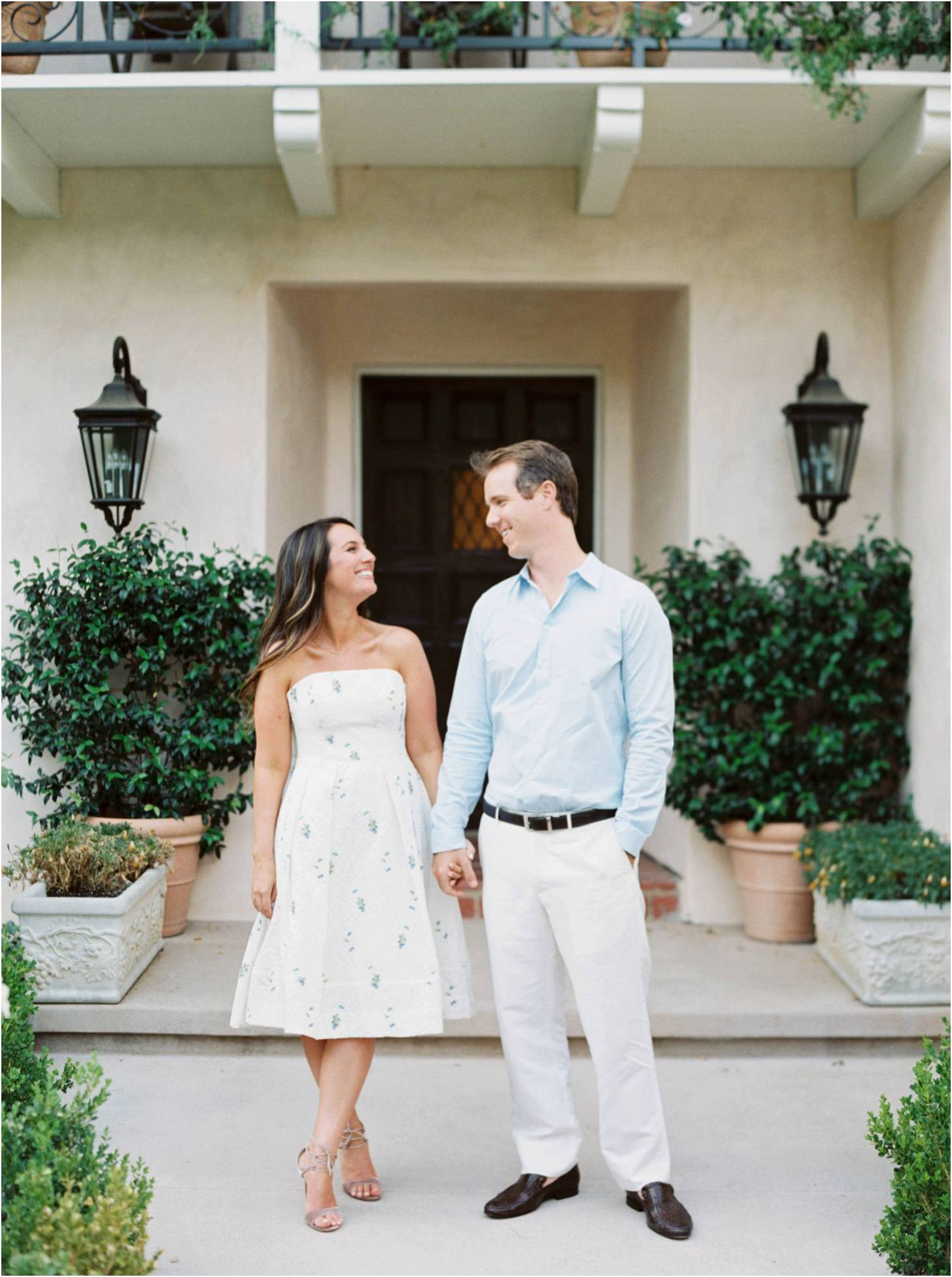 Kim Stockwell Photography Fine Art Film Wedding Los Angeles Valley Hunt Club Engagements Andrea and Brian_0756